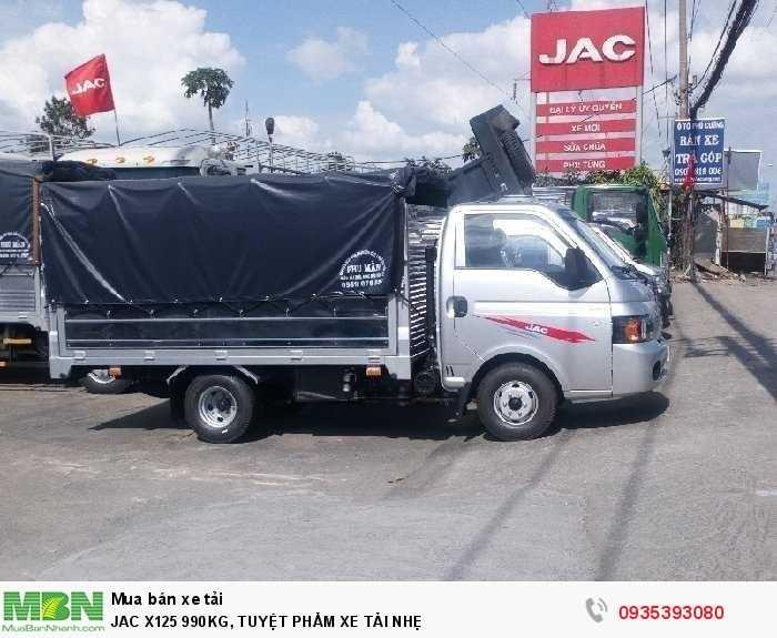 JAC X125 990KG, TUYỆT PHẨM XE TẢI NHẸ
