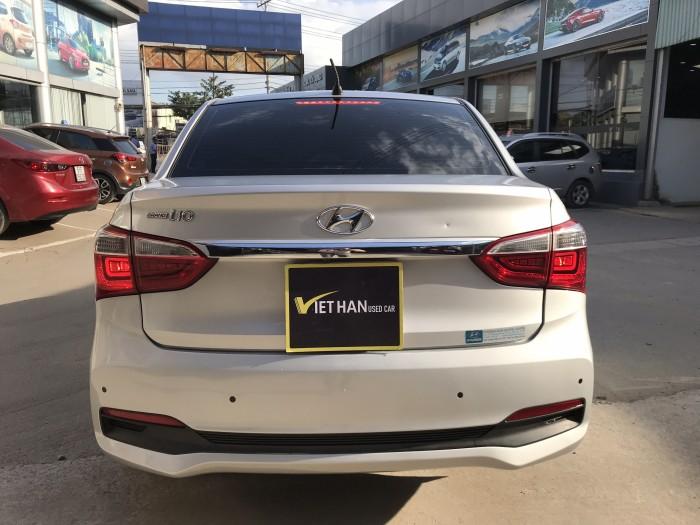 Bán Hyundai Grand i10 1.2MT bản đủ màu bạc số sàn sản xuất 2017 biển tỉnh 1 chủ chạy 39000km