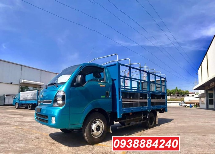 Bán trả góp xe tải Kia-Hyundai 2 tấn 4 Kia K250/ Kia Thaco New Frontier K250 thùng bạt mở 5 bửng tại Long An, Tiền Giang, Bến Tre 2