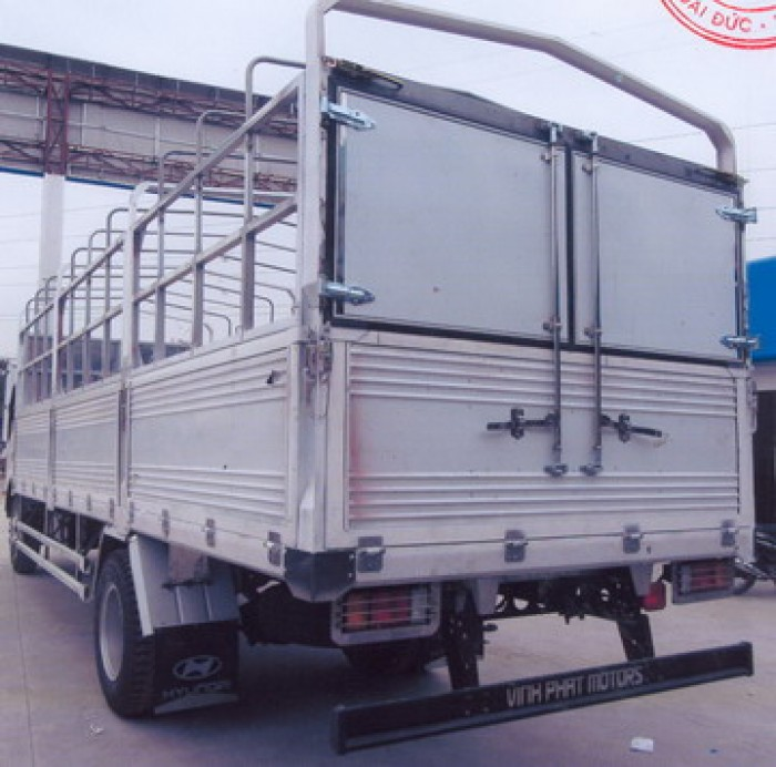 Xe tải Isuzu 8T | Xe tải thùng dài 6,96m