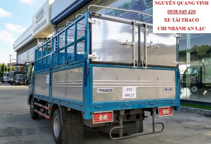 Xe Tải 5 Tấn - Thaco Ollin 500 Euro 4 - Dòng sản phẩm mới nhất hiện tại - Bán Xe Trả Góp