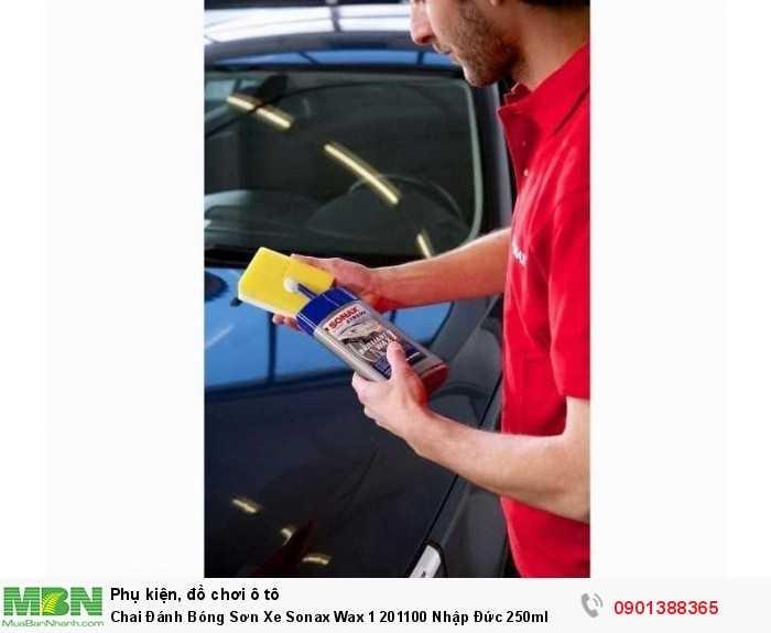 Ngăn ngừa bụi bẩn, tạo lớp màng bảo vệ vô cùng bền vững trên bề mặt sơn xe.