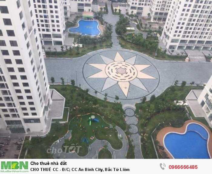 CHO THUÊ CC - Đ/C; CC An Bình City, Bắc Từ Liêm