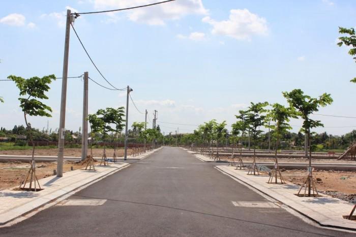 Đất Nền 5x16m 100% thổ cư,mặt tiền 30m Xã Hòa Phú, Củ Chi