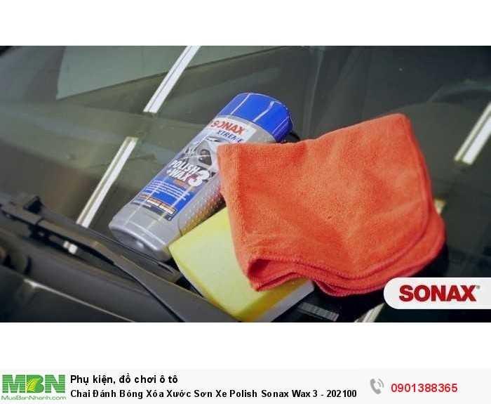 Xóa xước – đánh bóng – bảo vệ sơn xe dạng lai 3 trong 1