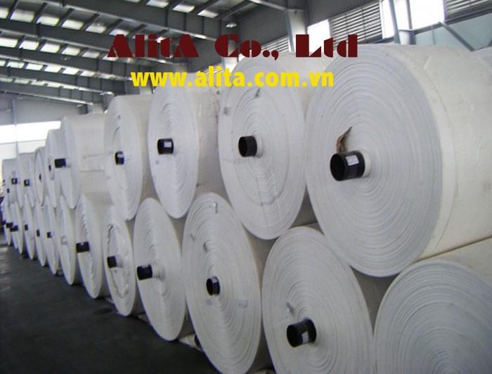 Cung cấp vải PP dệt dạng cuộn2