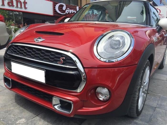 Bán em MINI Cooper 2015 màu đỏ 2 cửa nhập khẩu Anh
