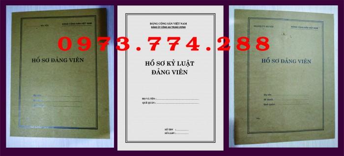 Bán vỏ đựng hồ sơ Đảng viên2