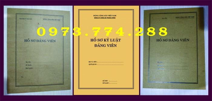 Bì, bìa, túi, vỏ đựng bộ hồ sơ Đảng viên19
