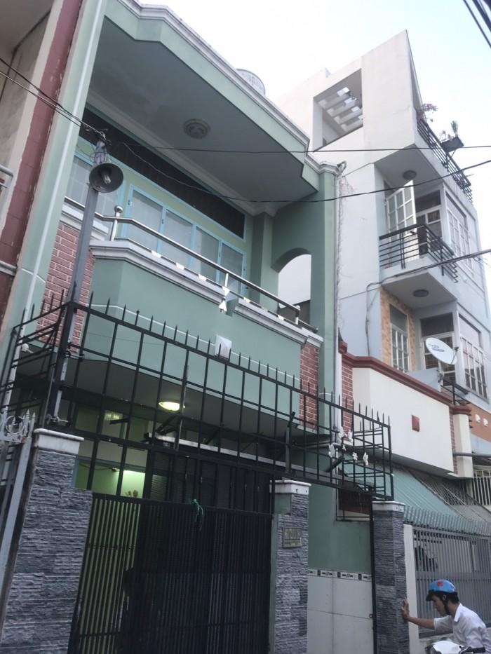 Bán  nhà hẻm xe hơi 4m  861/**  đường Trần Xuân Soạn Phường Tân Hưng Q7