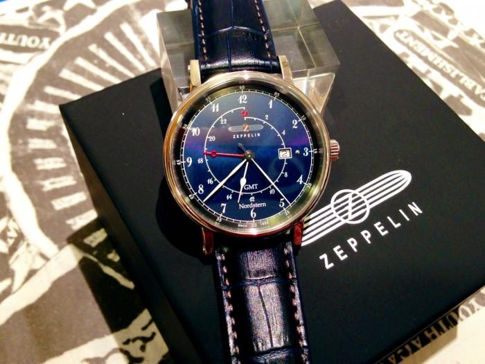 Đồng hồ nam Zeppelin 7546-3 Swiss Quartz GMT1