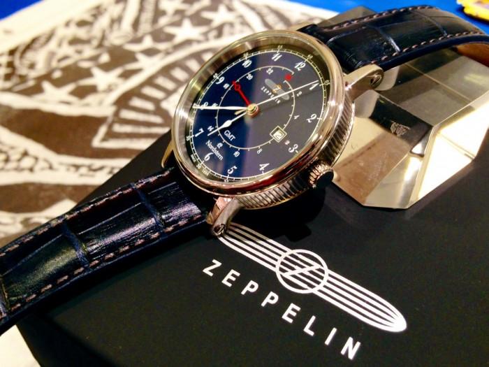 Đồng hồ nam Zeppelin 7546-3 Swiss Quartz GMT0