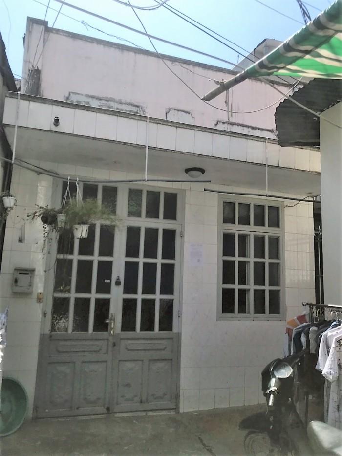 Bán nhà 1lầu hẻm đường số 2 Phường Tân Quy Quận 7