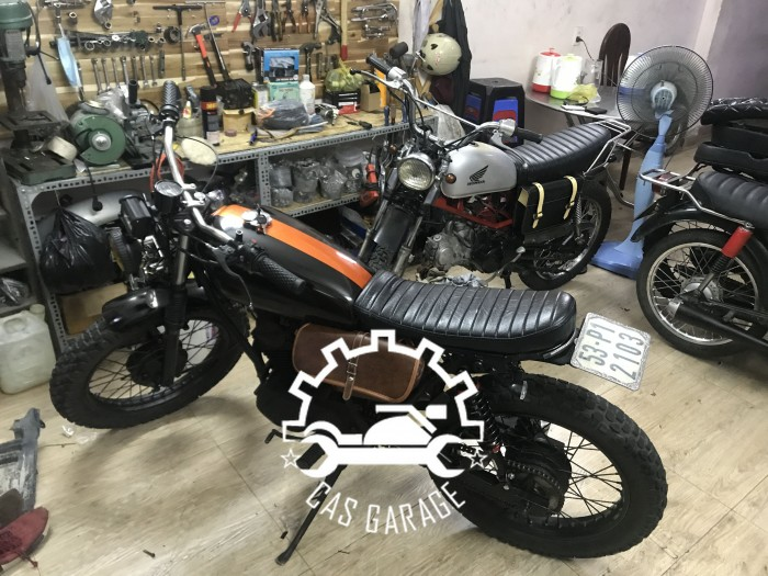 Bonus SYM 125cc độ tracker (CAS garage)