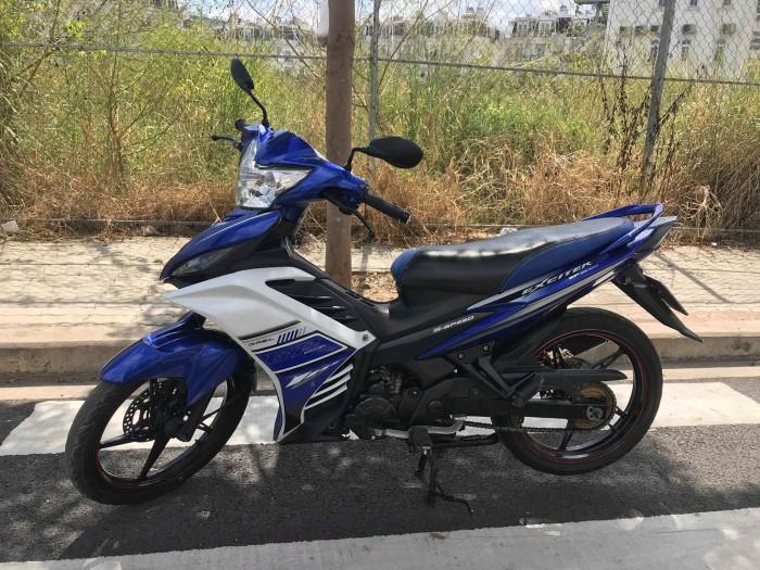 Xe Ecxiter GP 135 xanh GP chính chủ.BSTP 6