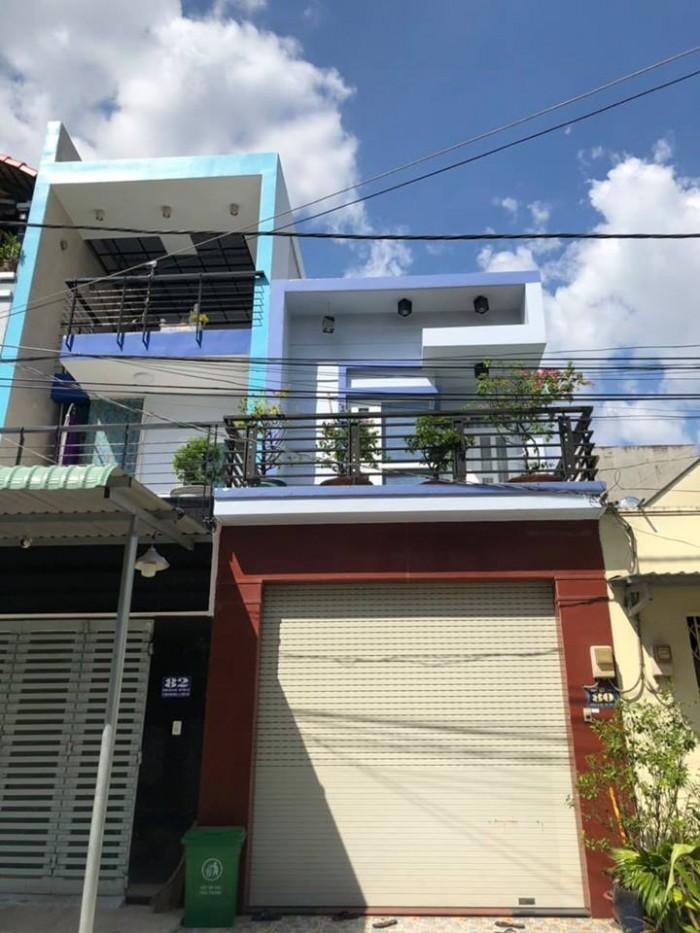 Bán gấp nhà mới mặt tiền đường số 1 Bình Hưng Hòa B Bình Tân