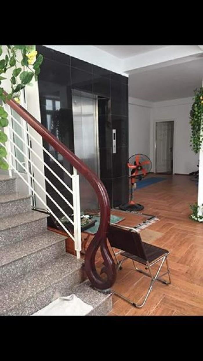 Bán nhà mặt phố Nguyễn Thái Học, DT 58m2, ô tô đỗ cửa, kinh doanh sầm uất.