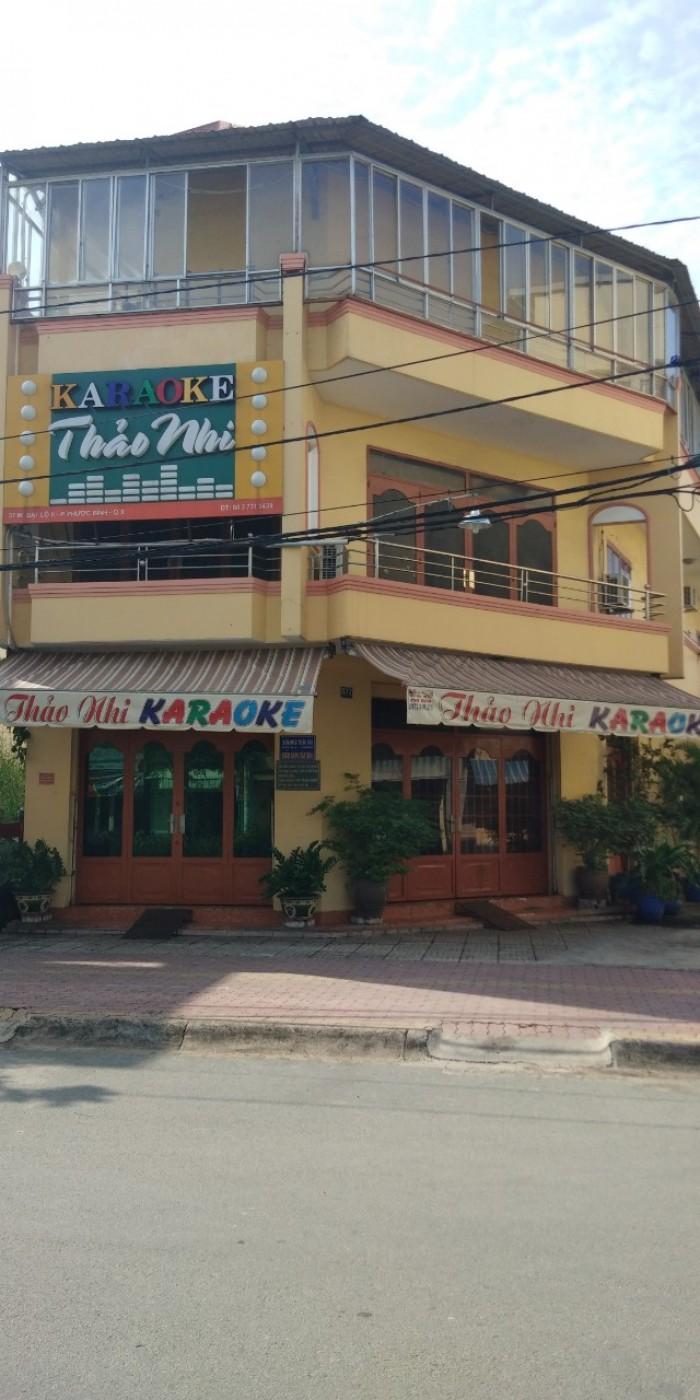 Bán gấp quán karaoke 2MT đường đại lộ 2 Phước Bình giá 183m2