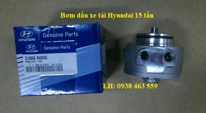 3180084000 Bơm dầu xe tải hyundai 15 tấn hd270, hd320, hd1000 trago hyundai