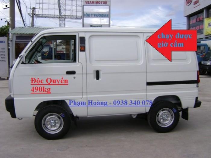 Suzuki Blind Van chạy trong giờ cấm, độc quyền tại Bình Dương Đồng Nai