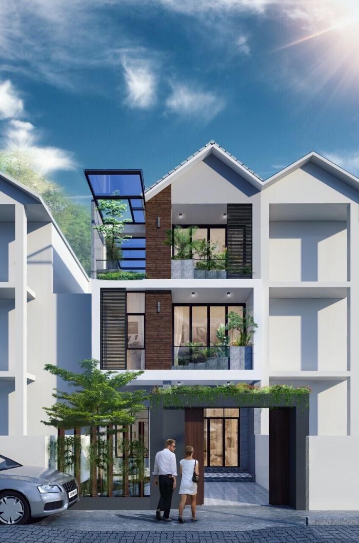 Bán nhà phố cực đẹp KDC 13B Conic Phong Phú, MT Số 7, 120m2, 1 trệt 3 lầu, ảnh thật