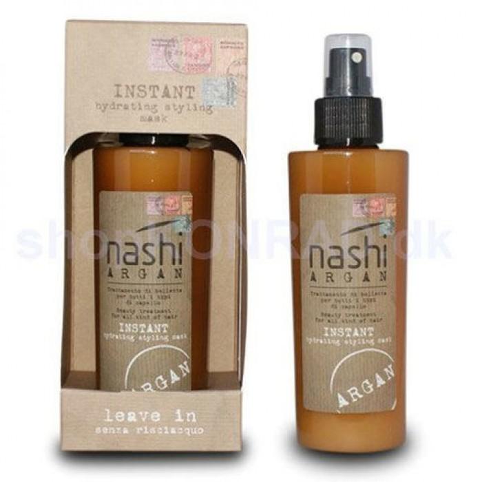 Xịt Dưỡng Xã Khô Nashi Argan Hydrating Styling Mask Leave In Ý Giúp Làm Phồng Tóc 150ml