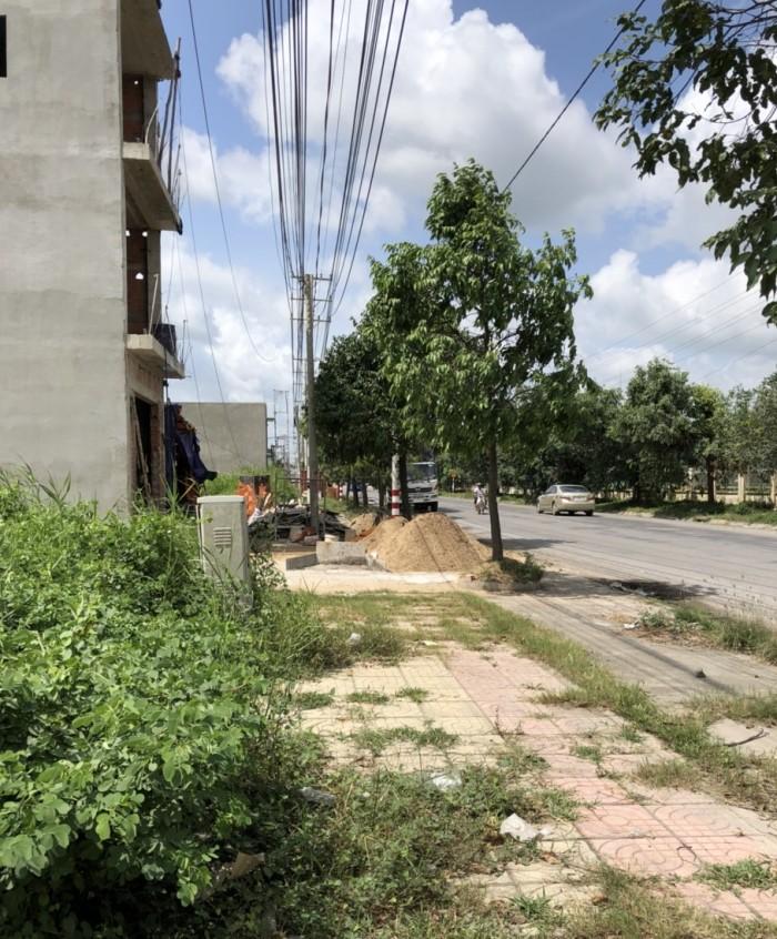 Đất MT Nguyễn Trung Trực, KCN Thuận Đạo,  Cần đước, Long an, lô gốc 2MT, 178,5 m2, SHR.