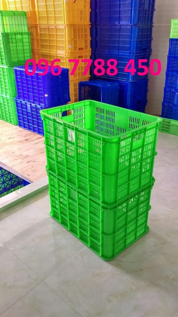 Bán rổ nhựa đan lớn đựng trái cây giá sĩ toàn quốc.4