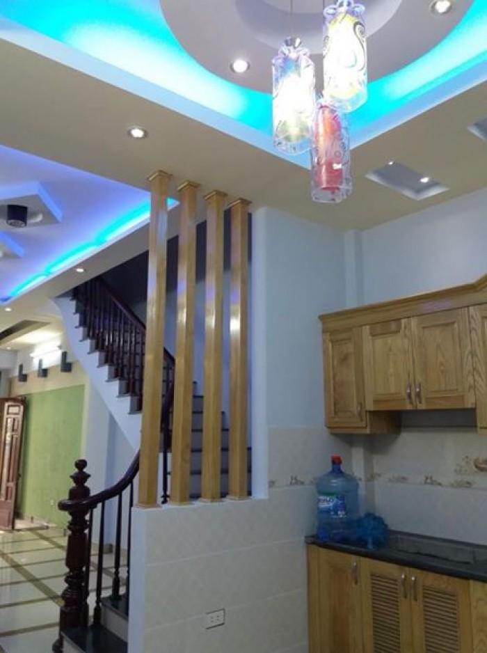 Nhà mới 4 tầng tại Mậu Lương, Kiến Hưng, Hà Đông. DT: 33m2.