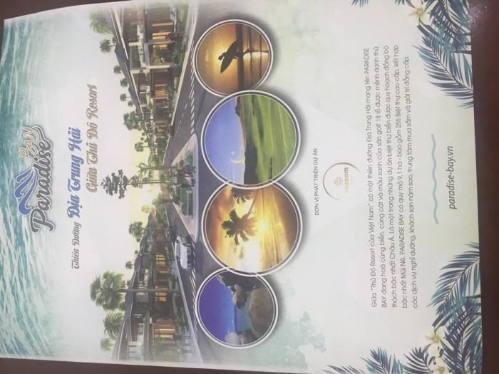 Tin hot! Dự án biết thự biển Paradise bay Mũi Né Phan Thiết đã khởi động nhận cọc khách nha!