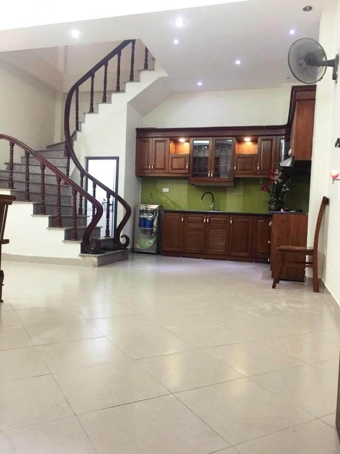 Bán gấp nhà mới đẹp 4 tầng Khâm Thiên – thông sang hồ Văn Chương