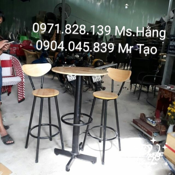 Ghế bar cafe giá rẻ0