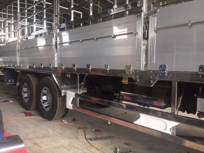 Xe tải Hino FC 6t2 thùng mui bạt, trả trước 100 triệu giao luôn xe - Gọi 0913553798 (MrThi 24/24)