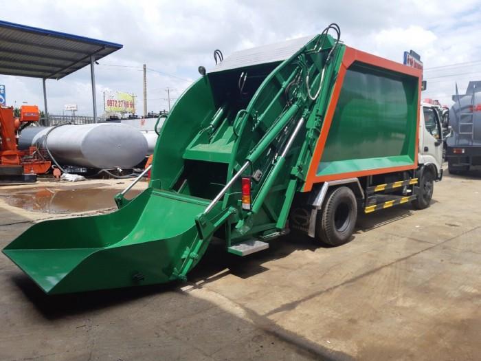 Khuyến mãi mua xe cuốn ép rác Hino Dutro 6 khối - Gọi ngay 0913553798 (MrThi 24/24)