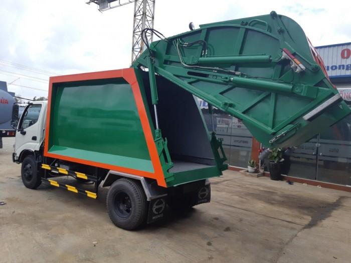 Giá xe cuốn ép rác Hino Dutro 6 khối - Gọi ngay 0913553798 (MrThi 24/24)