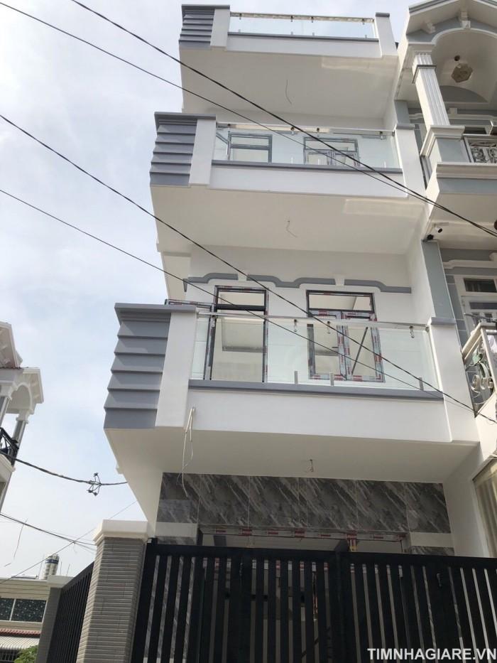 Nhà góc hai mặt tiền hẻm 67 Đào Tông Nguyên, Nhà Bè, Tp.HCM. DT 58.5m2, 2 lầu 4PN, sân thượng