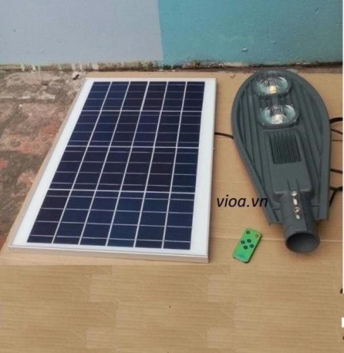 đèn đường led năng lượng mặt trời 100w0