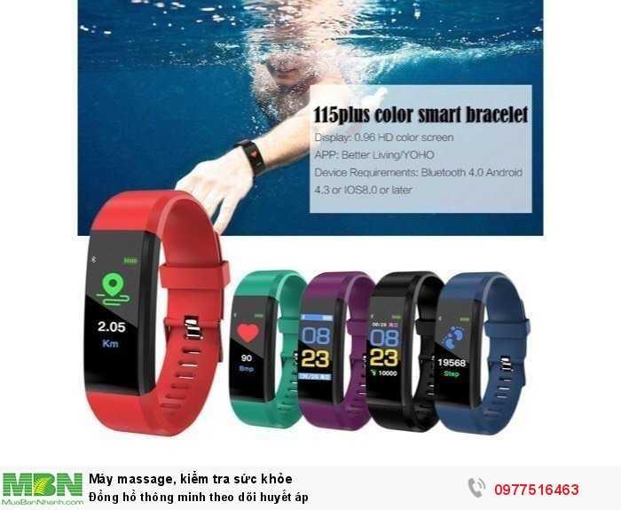 Đồng hồ thông minh theo dõi huyết áp3