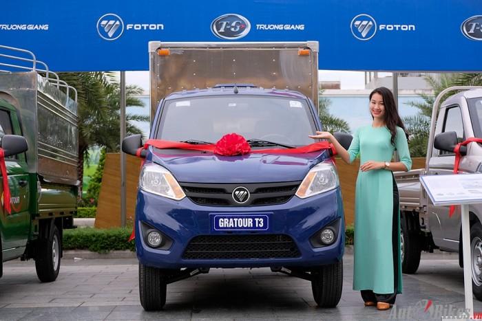 Xe Tải Foton Gratour 990kg tặng phí trước bạ và 250 lít xăng 0