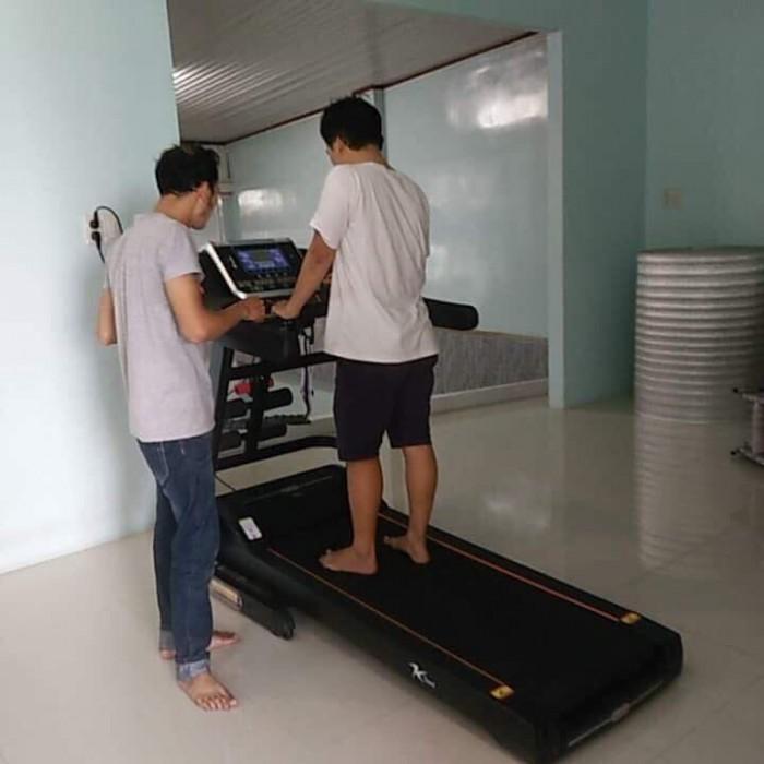 Xả kho thanh lý máy chạy bộ gia đình giá rẻ  Máy chạy bộ Kteed fitness KT900
