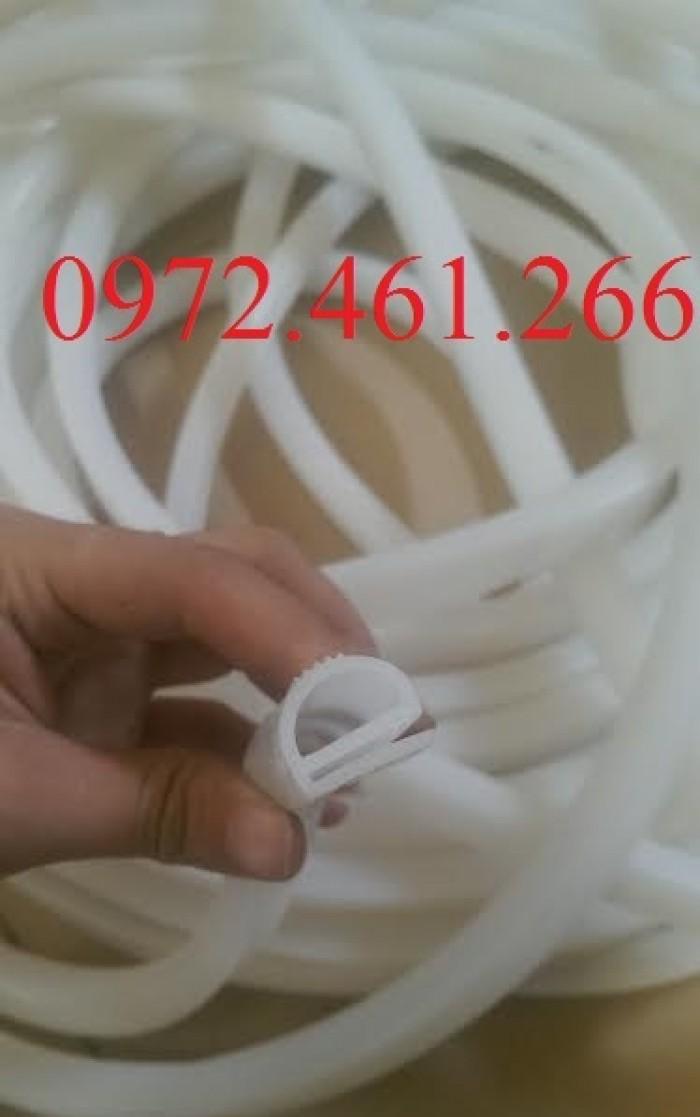 gioăng tủ cơm chữ E trắng1