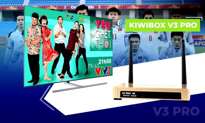 Android TV Box Kiwibox V3 Pro sản phẩm mới của tháng 10/ 20184