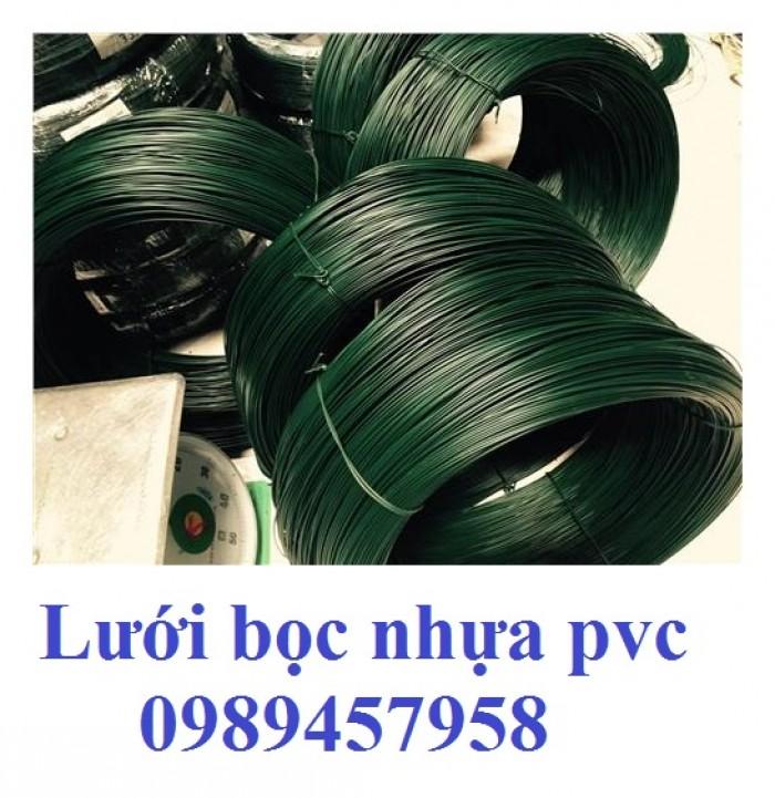 Dây bọc nhựa PVC 1,7mm, 2mm, 2,2mm, 3mm, dây bọc nhựa giá rẻ nhất thị trường miền bắc mới 100%1