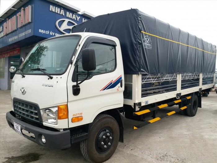 Xe tải Huyndai dothanh HD120SL chỉ cần đưa trước 80 triệu có ngay xe tại nhà 2