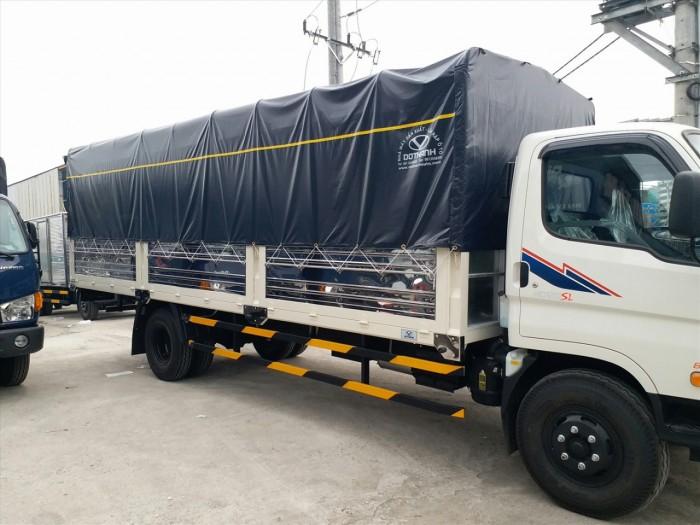 Xe tải Huyndai dothanh HD120SL chỉ cần đưa trước 80 triệu có ngay xe tại nhà