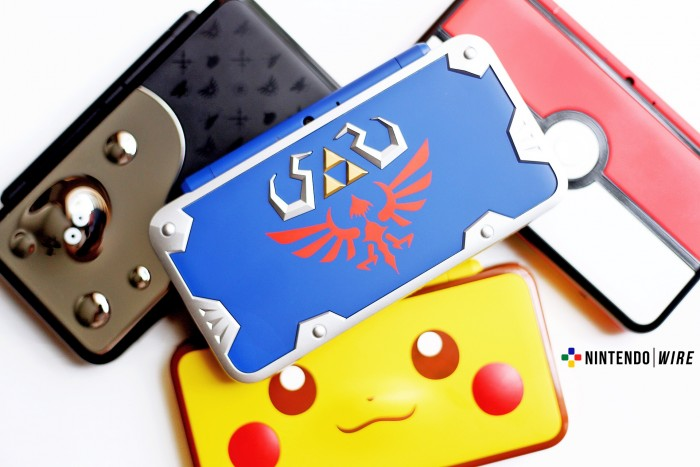 Nintendo 2ds xl Hylian Shield edition Us0
