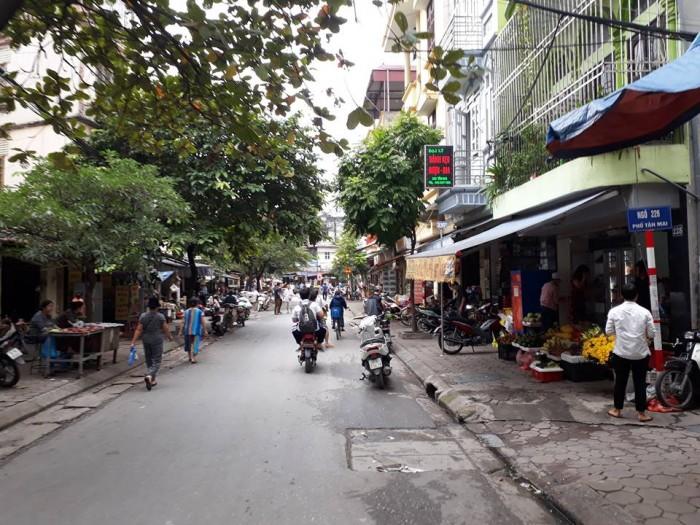 Bán nhà đẹp DT 65m2* 5 tầng, MT 5.2m, đường ô tô tránh kinh doanh đỉnh ngõ 166 Tân Mai