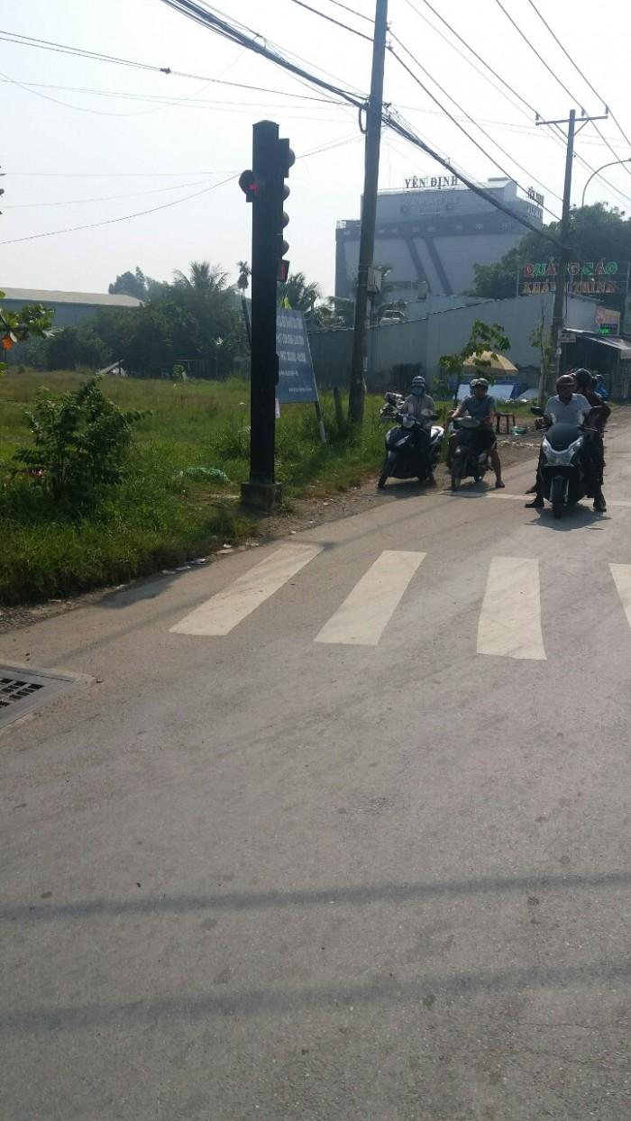 Bán 2 lô đất mặt tiền Hồ Văn Tắng, Củ Chi 950 triệu.