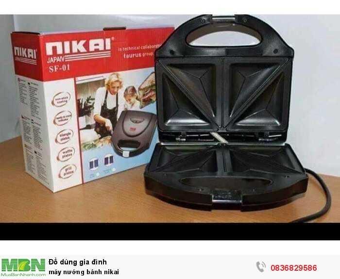 Máy nướng bánh nikai0