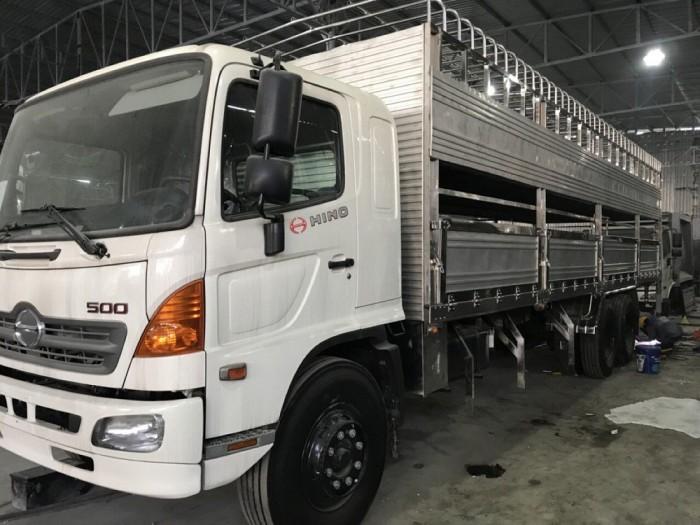 Xe tải Hino 16 tấn thùng mui bạt 9m2 - Gọi 0913553798 (MrThi 24/24)